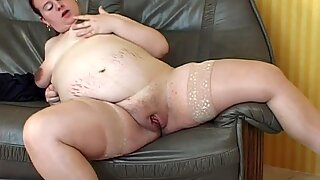 Fat pregnant euro mom first porn