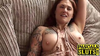 Hot ass MILF with experience rubbing her cunt for Pascal