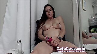 Lelu Love-WEBCAM: Cum Thoughts And 2 Vibrator Orgasms