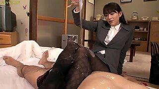 Shou Nishino Soap Superb Woman Pantyhose Ass Whip Ru Nume