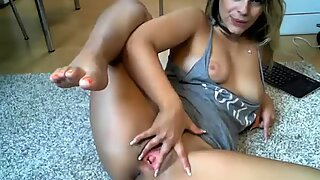 Busty Teen Riding Toy