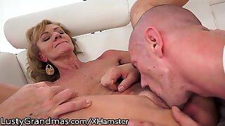 LustyGrandmas wooly granny Eaten and penetrated to Satisfaction