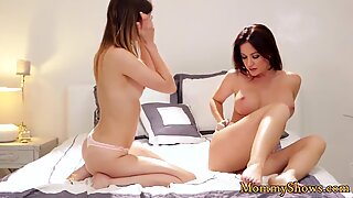 Busty milf in sixtynine with gorgeous teen