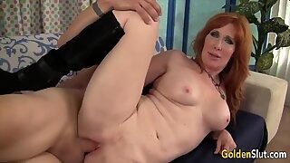 Golden Slut - GILF Freya Fantasia Comp 1