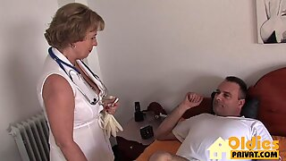 Dr Granny gets fucked